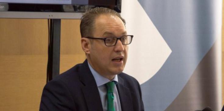 L'advocat Jose María Alfín és especialista en fiscalitat i al llarg de la conferència va insistir en els passos a seguir per configurar correctament una sicav al Principat.